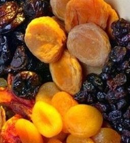 Iranian dried fruit
