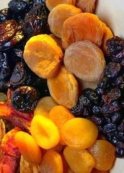 Iranian standard dried fruit suitable for export