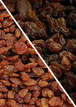 Buy Organic and Sultana raisins Online