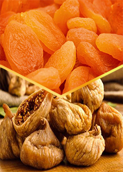 Buy Persian dried apricots and dried figs