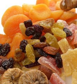 Iran dried fruit