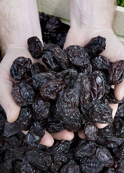 the best Iranian organic prunes for export